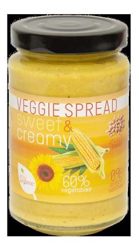 Veggie Spread Sweet & Creamy